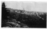 Loring 1920' Taken From West Road Hill Forsythe House and Manse at Centre